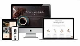 MW- Vertrieb Webdesign Würzburg, Website (Responsive Webdesign) mit WordPress, Werbetexte von Franca Siegel