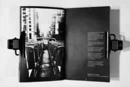 Buchgestaltung, Fotografie, Werbetexte, Projekt Social Adaption Chicago, Layout Bild 3