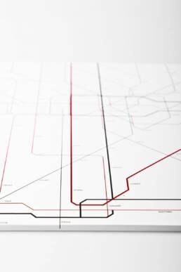 franca.siegel - Konzept, Design & Beratung, Projekt Kontinuum Cover Metro Gestaltung