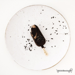 Content Marketing, Instagram Bild Magnum Intense Dark für Mobiler Eisverkauf 24 von Franca Siegel, Grafikdesignerin