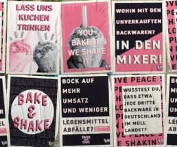 Plakatdesign, Projekt The Yeah Blend Würzburg, Plakate 2