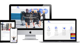 Projekt b-active EMS Training Webdesign Würzburg