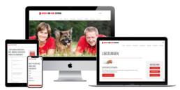 Webdesign, Projekt Mensch Und Hund Zentrum Nürnberg